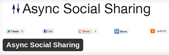 async-social-sharing