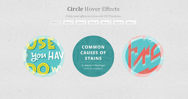 Circle-Hover-Effects
